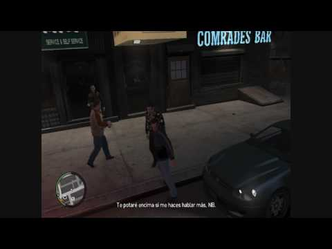 GTA 4  - Epic Drunk Fight
