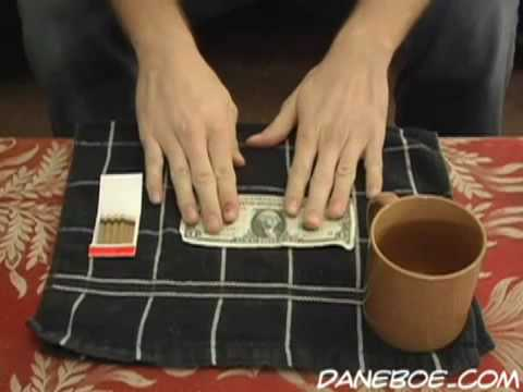 Most Amazing Magic Trick! Turn $1 Into $100!