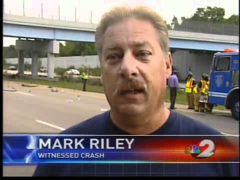 Horrific crash on I-675 caught on tape