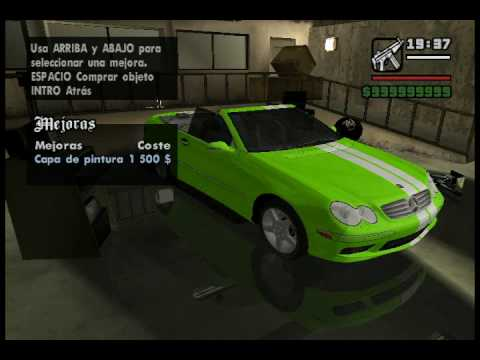 GTA San Andreas - Tuning Cars Mod (part 2)